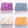 import cheap promotional products gift items cotton towels in box from china