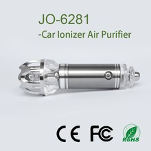 New Invention Car Smoke Ionizer JO-6281with 4800000pcs/cm3 Negative Ions