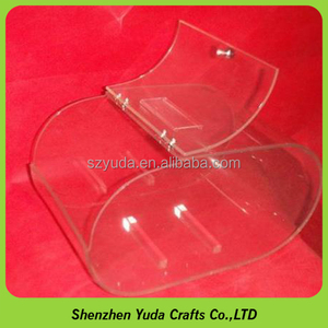 Customize transparent acrylic candy display stand bulk biscuits storage container