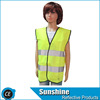 CE Printed Yellow Kids Reflective Vest