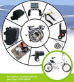 2017 New Professional Mini Motor Kit for Fold Bike With CE EN Approved