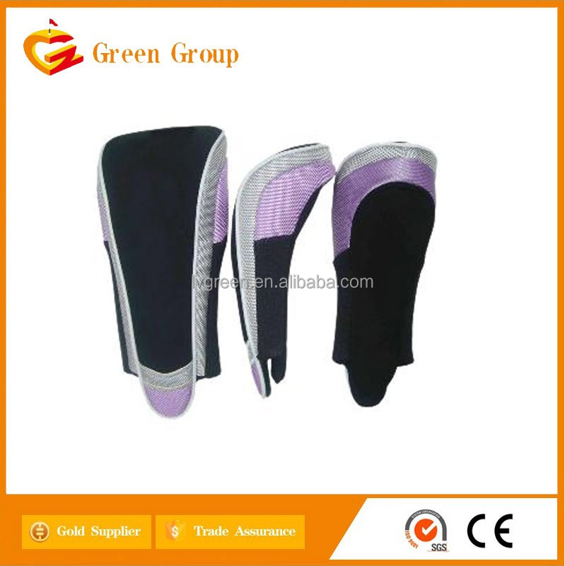 Wholesale embroidery logo synthesis leather golf club head cover