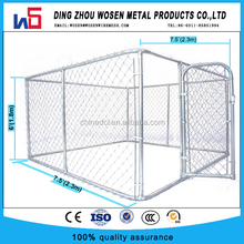 10'LX10'WX6'H Hot dip galvanized chain link dog kennel/dog run