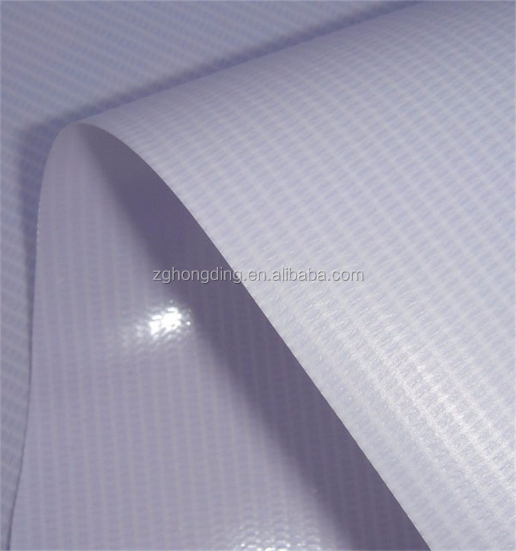 frontlit glossy pvc printing paper / vinyl pvc flex banner in rolls with low price for digital printing