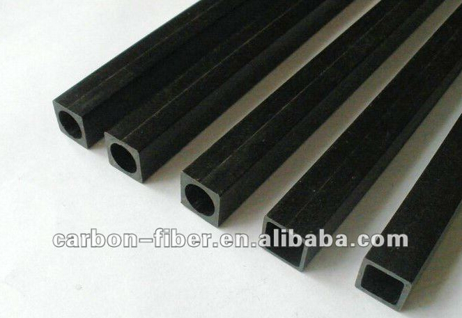 Hollow 7mm 8mm 9mm 10mm 12mm 15mm square pultruded Carbon Fiber tube