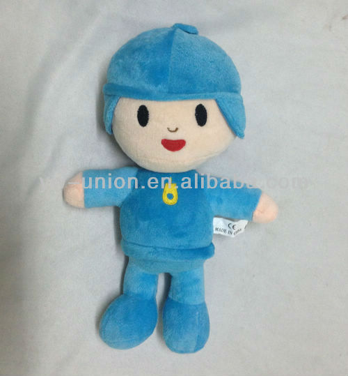 Hot-sale Fashion Soft Plush Cartoon Toy Pocoyo