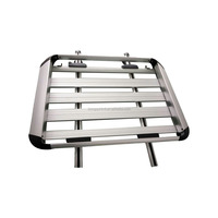 Aluminum Top Roof Rack Cargo Carrier Basket