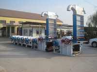 Soft cotton fabric waste recycling machine for yarn spinning