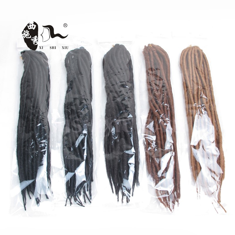 Dread locks Crochet Braid Hair Hair Extension 16Inch 2X Mambo Faux Locs