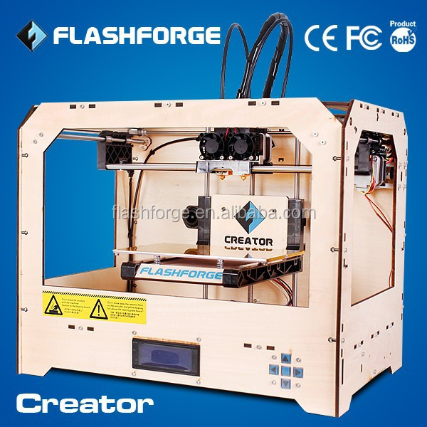 FLASHFORGE high quality and resolution dual nozzle printdlp 3d printer