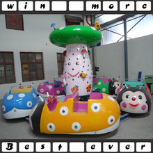 Kids amusement park rotating rides cute ladybird kiddie rides for sale