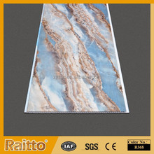 Modern House Marble Ceiling Tiles Colored PVC Panel for Wall