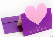 Heart Shape Wedding Invitation Card,Greeting Card