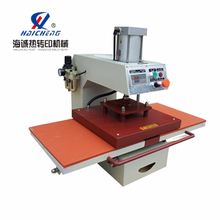 Pneumatic heat press machine double locations heat transfer machine