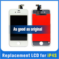 For iPhone 4S LCD Screen Digitizer Touch Display Glass Assembly Complete Replacement with tools Black or white