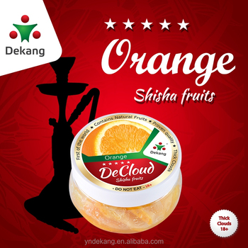 2018 New dekang DeCloud Orange Fruits shisha tobacco for hookah & shisha