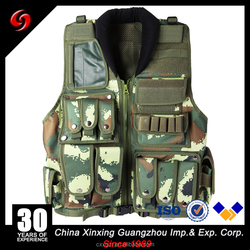 600D Polyester Tactical and Hunting Vests for Military or Outdoors Hunting or Fishing vest Paintball Vest