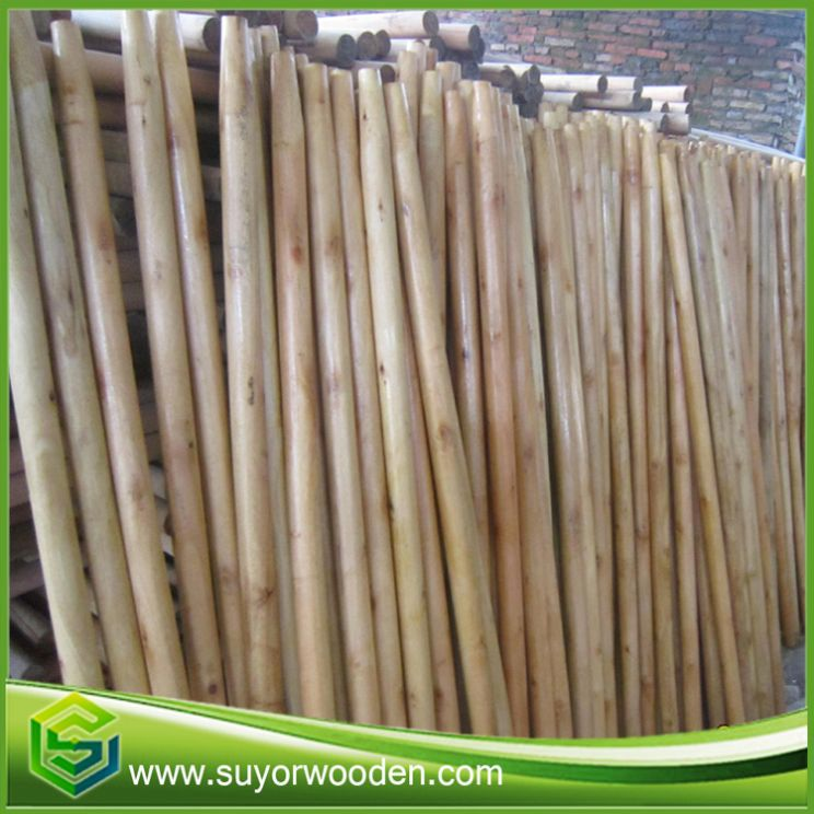 Broom Sticks Wooden Poles Handle Cover Pvc