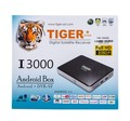 Tiger I3000 Arabic Satellite Receiver World Andriod TV Box Smart TV Box 1year pop iptv 1year atlas iptv 1year iks for free