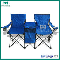 Foldable Camping Double Couples Garden couple chair