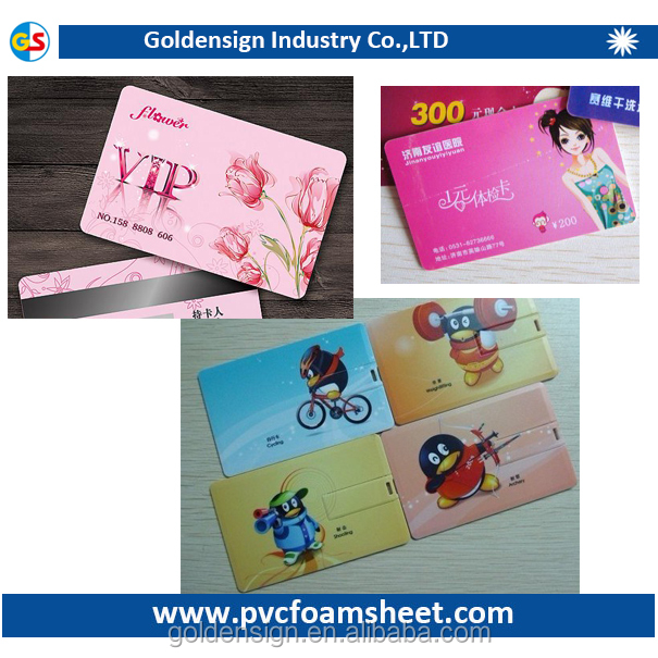 pvc sheet for id card