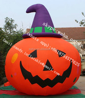 2015 gaint inflatable pumpkin for halloween decoration