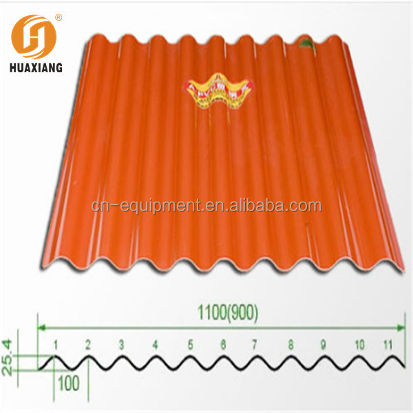 color steel roofing plate/cheap roof tiles/corrugation plastic roofing sheets color