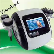 2016 new design 5 in 1 cavitation rf machine fat cellulite/rf vacuum and cavitation probe for sale