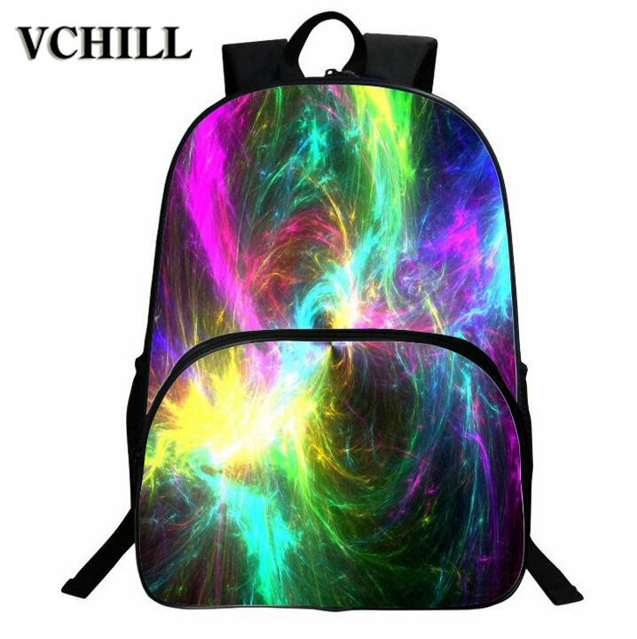 2016 Fancy Printed School Backpacks For University Students