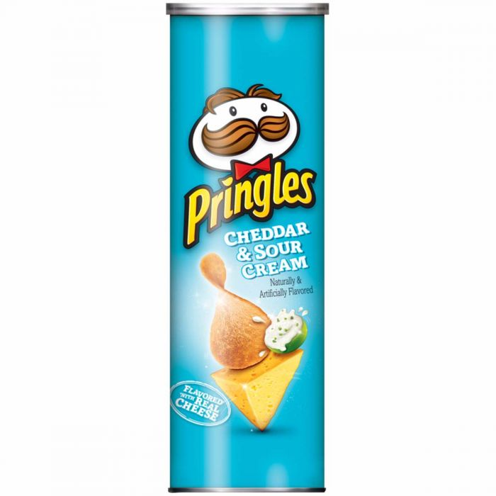 Pringles Cheddar and Sour Cream 14 x 158 Grams