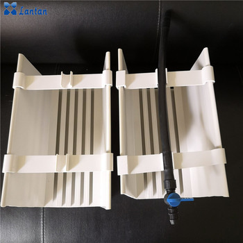 Hot sale Vertical Hydroponic System PVC gutter for greenhouse and garden