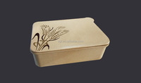 2016 new year product eco-friendly organic rice husk kid lunch box
