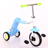 Factory wholesale 3 in 1 HDPE mini children toys kids kick scooter