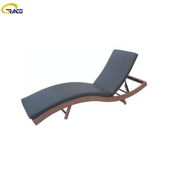 High quality outdoor garden wicker rattan daybeds