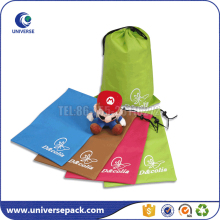 Special bra packaging nylon drawstring gift bag with custom printing