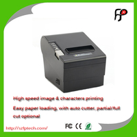 80mm Thermal receipt Lan printer support android and IOS phone/tablet with auto cutter