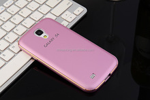 Luxury Ultra-thin Aluminum Metal Bumper PC Back Case Cover For Samsung Galaxy S4