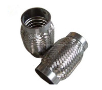 auto exhaust flexible braied pipes/coupling/bellows