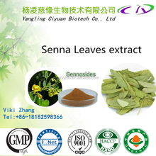 Natural purity & best selling Senna leaf extract /Cassia angustifolia extract 8% Sennosides A, Sennosides B 517-43-1 / 81-27-6