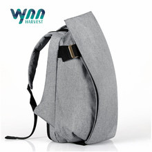 Outdoor large capacity white mini canvas backpack bag