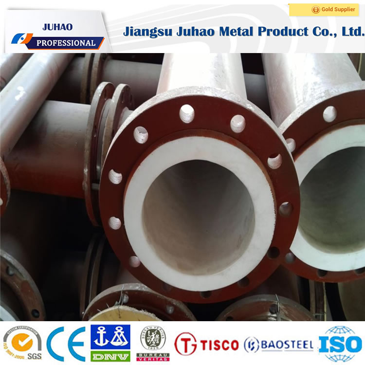 wholesales price steel pipe covered plastic water steel pipe