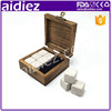 Insoluble Top Quality Cold Stones Dice Ice Cube Whisky Stone