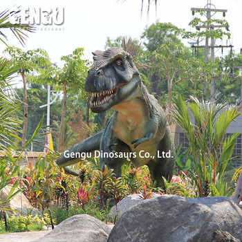 Prehistoric Outdoor High Simulation Fiberglass Dinosaur