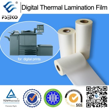 digital plastic film for printing,digital thermal lamination film