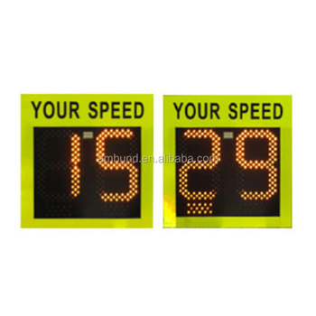 Speed Indicator Device Traffic Radar Solar Powered Radar Speed Signs Slow Down Traffic Signs