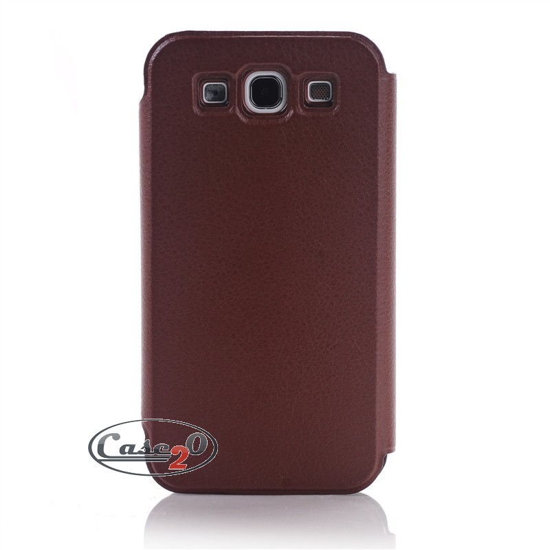 Samsung Galaxy S3 Plain Leather Flip Case