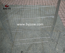 Wire Mesh Temporary Dog Fence Metal Dog Play Pen For Sale On Alibaba (Real Manufacturer)