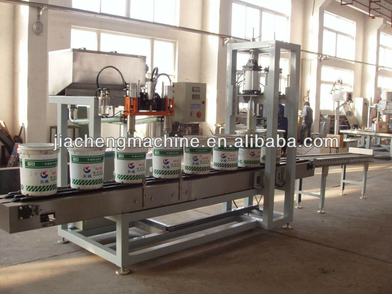 HOT Semi Automatic Oil Drum Filling Line