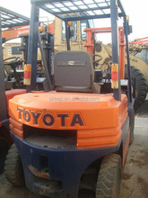 Toyota 3 Ton FD30 Used Forklift Original from Japan