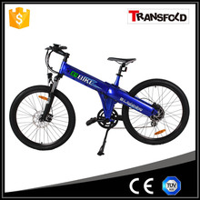Hot sale ISO certificate electric mountain downhill bike